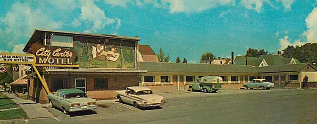 City Center Motel, Missoula, Montana 1960s