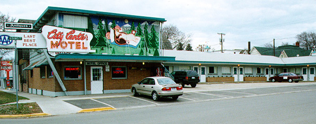 City Center Motel, Missoula, Montana 1990s