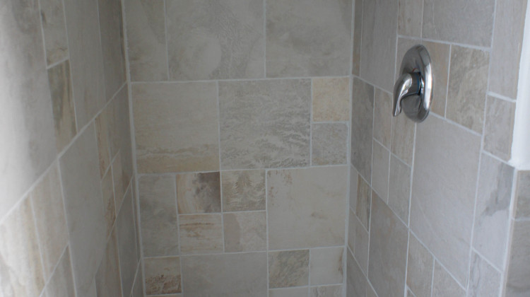 Updated modern shower