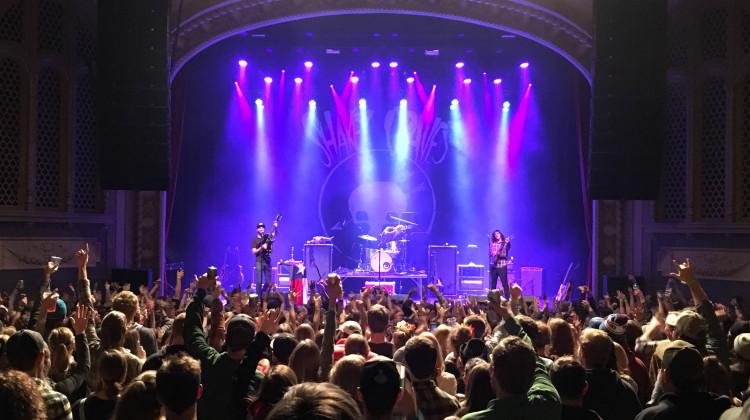 The Wilma concert venue shakey graves